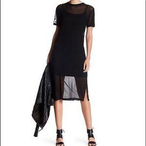 Bobeau Mesh Dress